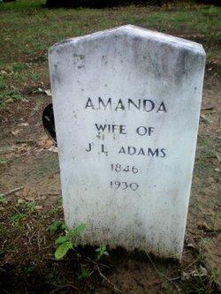 Amanda <I>Hagins</I> Adams