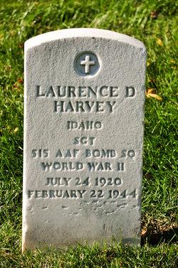 SGT Laurence D Harvey