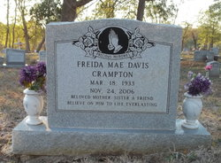 Freida Mae <I>Davis</I> Crampton