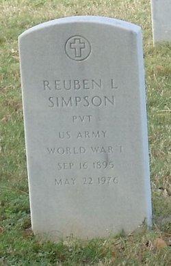 Reuben L Simpson