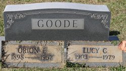 Lucy Cora <I>Brown</I> Goode