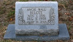 Angeline <I>Wall</I> Belote