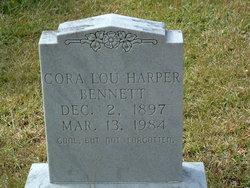 Cora Lou <I>Harper</I> Bennett