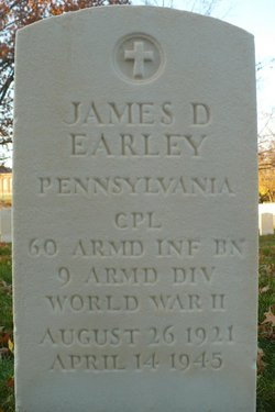 Corp James D Earley
