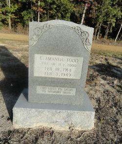 E Amanda West Todd 1914 1949 Find A Grave Memorial