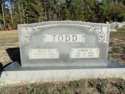 Mary Ola <I>Hardee</I> Todd