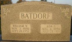 William W Batdorf