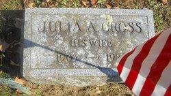 Julia A <I>Cross</I> Booth