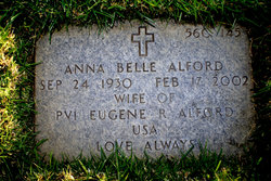 Anna Belle <I>Thrift</I> Alford