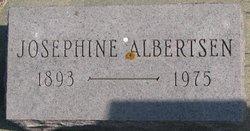 Josephine <I>Huffman</I> Albertsen