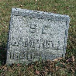 Sarah Elvira <I>Bradley</I> Campbell