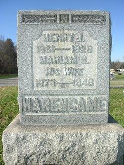Mariam Gertrude <I>McElwee</I> Harencame