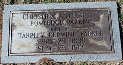 Christina Antoinette <I>Powledge</I> Parker