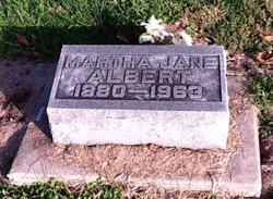 "Martha Jane ""Jennie"" <I>McWhirter</I> Albert"