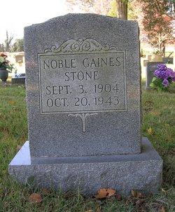 Noble Gaines Stone