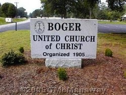 Boger United Church of Christ Church Cemetery