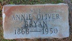 Annie B <I>Oliver</I> Bryan