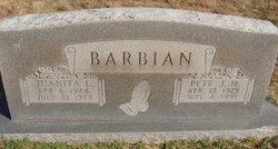 Juanita Lorene <I>Cline</I> Barbian