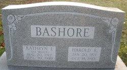 Kathryn Irene <I>Miller</I> Bashore