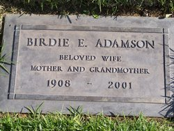 Birdie Estell <I>Ganann</I> Adamson