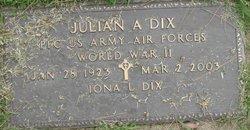 Julian A Dix