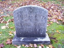 Sarah Alice <I>Bonnett</I> Barker