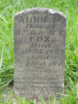Annie M Fox