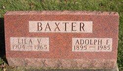 Adolph F Baxter