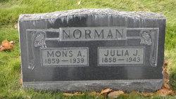Julia A <I>Johansen</I> Norman