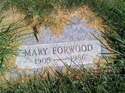 Mary <I>Holstein</I> Forwood