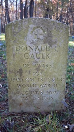 Sgt Donald C Caulk