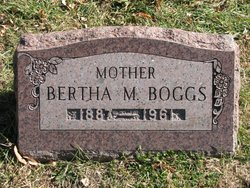 Bertha Maude <I>Winegar</I> Boggs