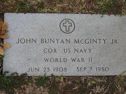 John Bunyon McGinty, Jr
