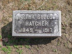 Martha Jane <I>Bullock</I> Hatcher