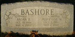 Josephine M <I>Hower</I> Bashore