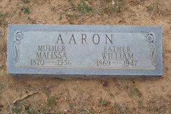 Rhoda Malissa <I>Casey</I> Aaron