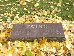 Mary Alice <I>Babb</I> Ewing