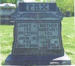 Jane S <I>Fox</I> Clark