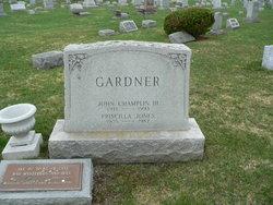 John Champlin Gardner, III