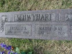 Maude May <I>Keithley</I> Schwyhart