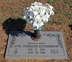 Alma <I>Thomason</I> Leatherwood