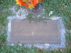 Dr A B Allen
