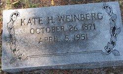 Kate H Weinberg