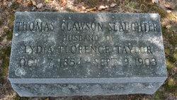 Thomas Clawson Slaughter