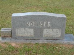 Bertha M. <I>Jones</I> Mouser