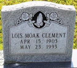 Lois <I>Moak</I> Clement