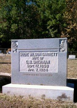 "Susan ""Sudie"" <I>Garrett</I> Sherman"