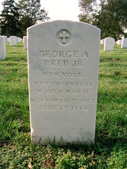 Pvt George A Reed, Jr