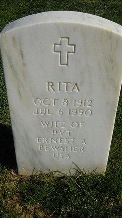 Rita A. <I>Baer</I> Bewsher