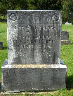 Martha Jane <I>Hitchcock</I> Aldrich